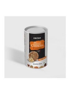 Cashewnuts Jaggery Millet Cookies (wheat-free) - 110g - Boutique Foods