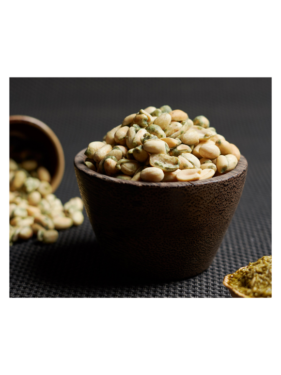 Cheese Pesto Peanuts - 75g - Snackible
