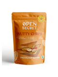 Spicy Peanut Butter with Supergrains Nutty Chips - 30g - Open Secret