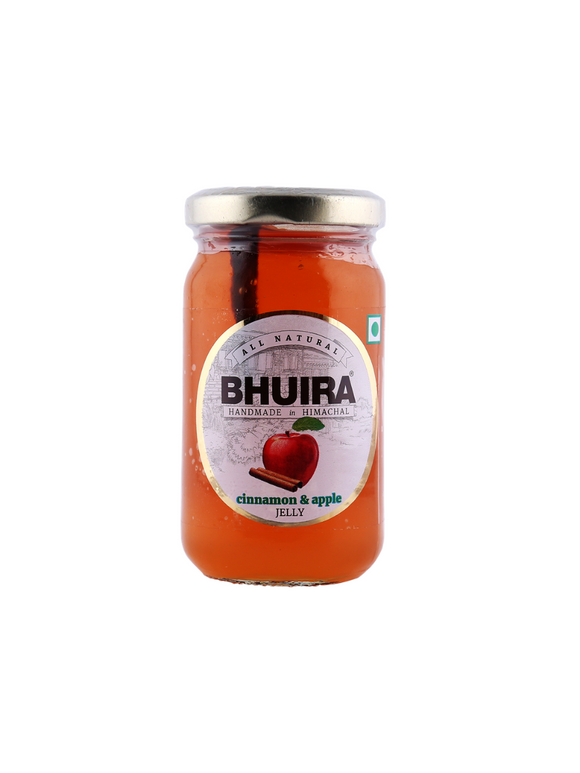 Apple & Cinnamon Jelly - 240g - Bhuira