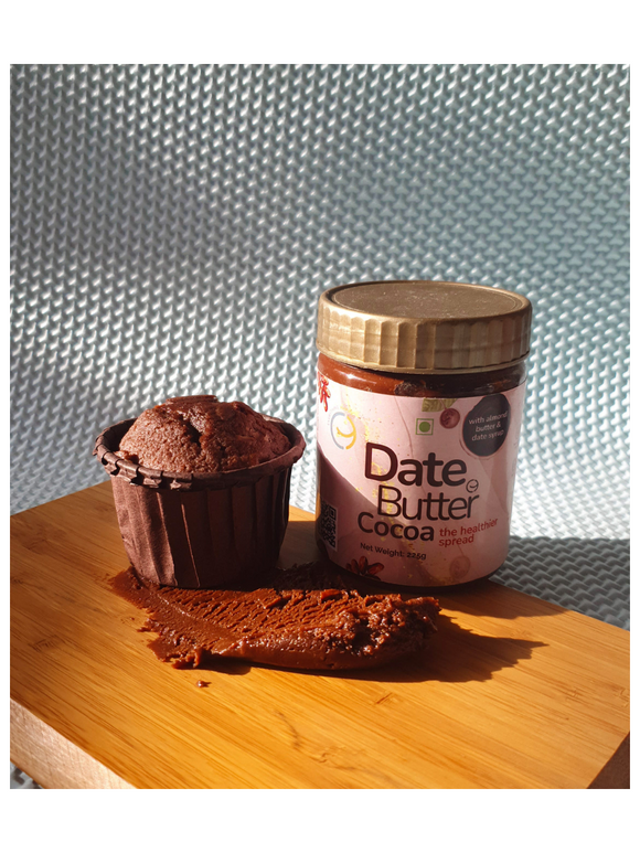 Cocoa Date Almond Butter - Everything Happy