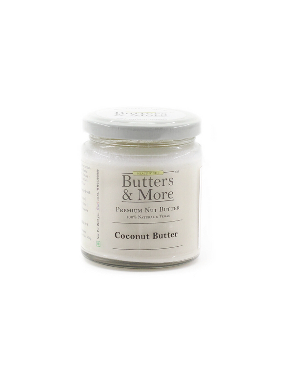 Natural Coconut Butter - 200g - Butters & More