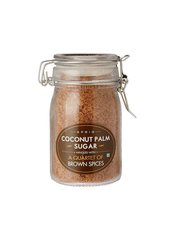 Coconut Palm Sugar  Infused with Quartet of Spices - 175g - Sprig