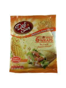 Soft Corn Wheat Wraps - 360g - Delisun