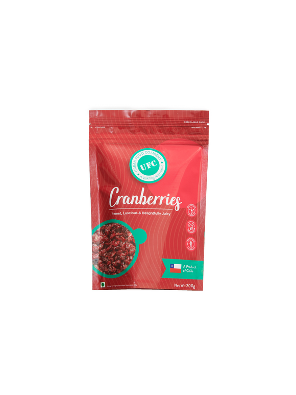 Dried Cranberries - 150g - Urban Food Co.