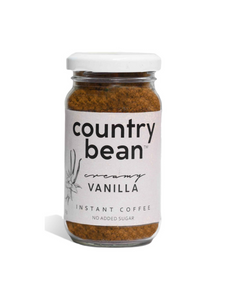 Creamy Vanilla Instant Coffee - 60g - Country Bean