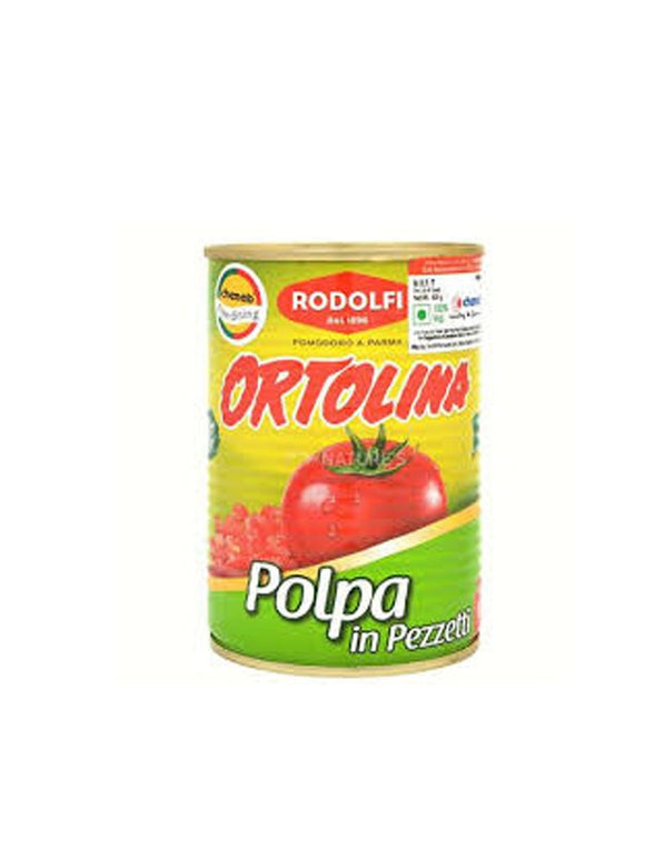 Chopped Tomatoes in Puree - 400g - Rodolfi