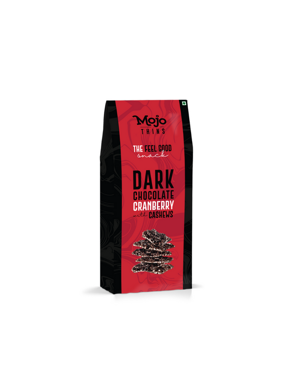 Dark Chocolate Cranberry Mojo Thins