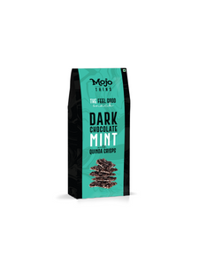 Dark Chocolate Mint with Quinoa Crisps Thins - 100g - Mojo Thins