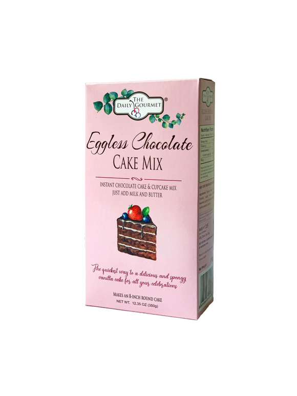 Eggless Chocolate Cake Mix - 350g - The Daily Gourmet