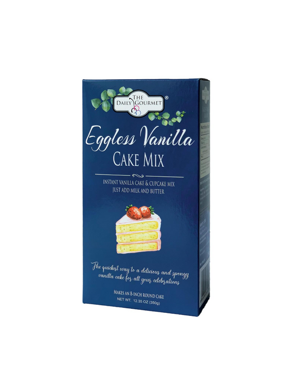 Eggless Vanilla Cake Mix -350g - The Daily Gourmet