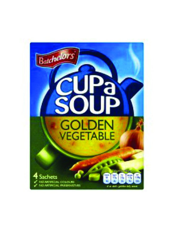 Golden vegetable Soup - 4 sachets - Batchelors