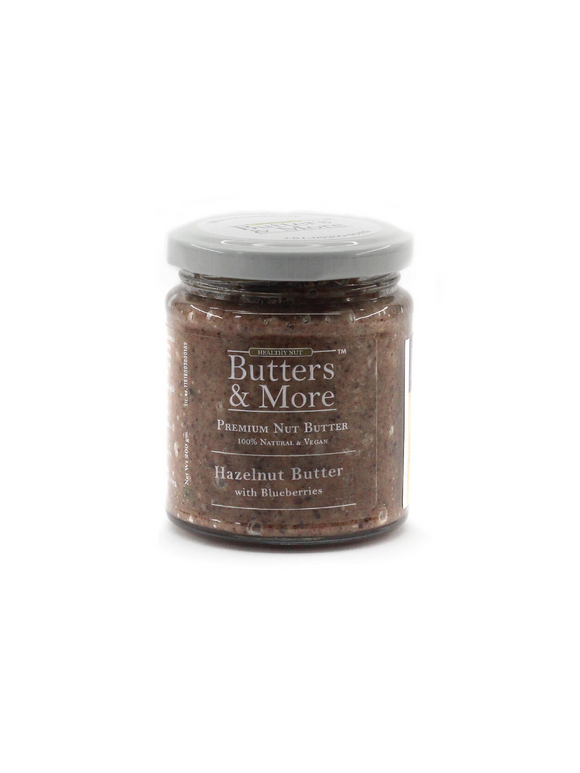 Hazelnut Butter with Blueberries - 200g - Butters & More