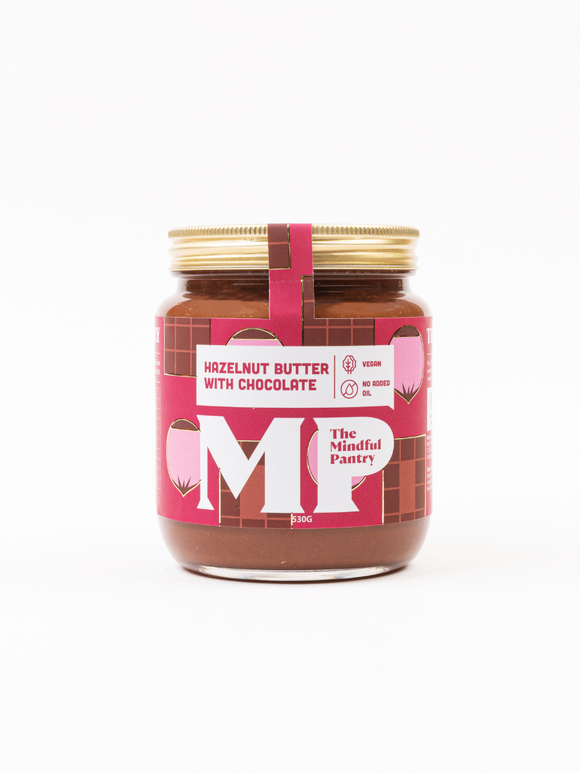Hazelnut Butter with Chocolate - The Mindful Pantry