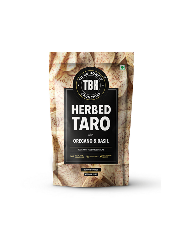 Herbed Taro Chips - TBH