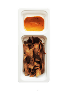 Spicy Mayo Dip with Jalepeno Ragi Chips - 50g - Snackible