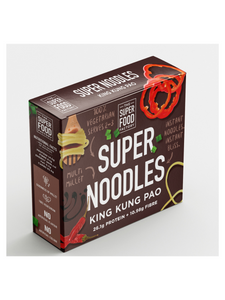 Kung Pao Super Noodles - 207g - The Superfood Factory