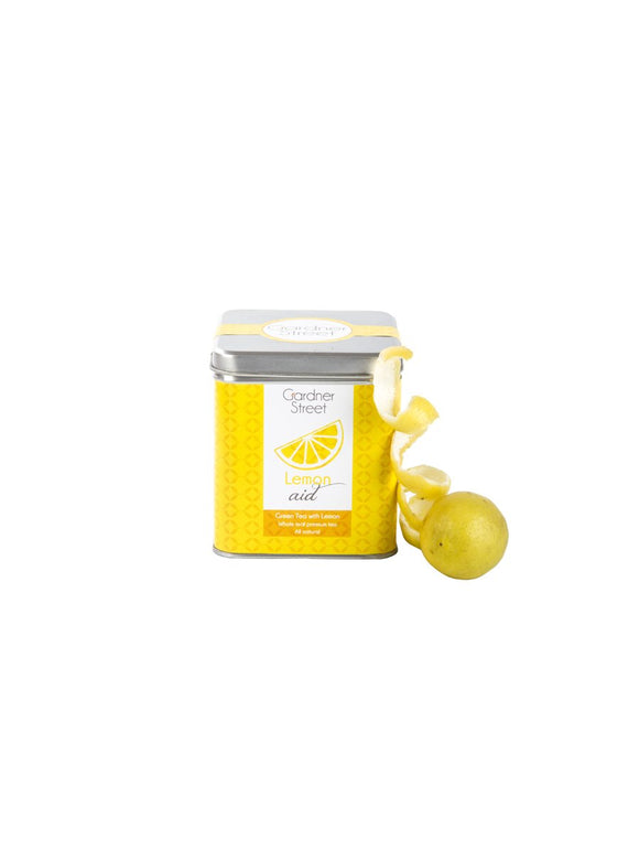 Lemon Aid (Green Tea with Lemon) - 20 Tea Bags - Gardner Street