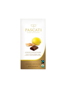 Lemon & Ginger - 75g - Pascati Chocolates