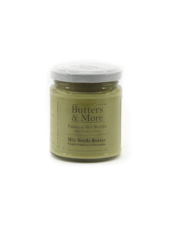 Mix Seed Butter (70g of Vegan Protein per jar) - 200g - Butters & More
