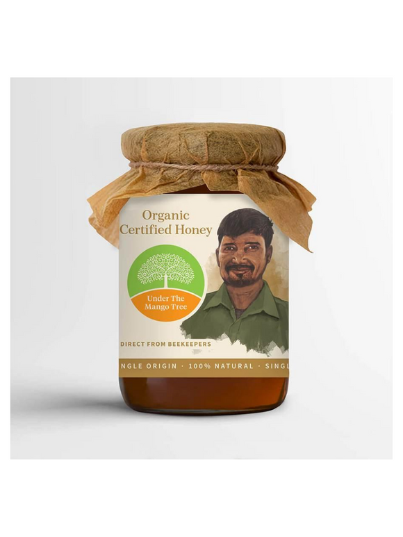 Organic Certified Honey - 200g - Under the Mango Tree