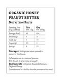 Organic Honey Peanut Butter - 200g - The Butternut Company