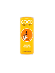 Sparkling Passion Fruit Juice Can -250ml - Good Juicery