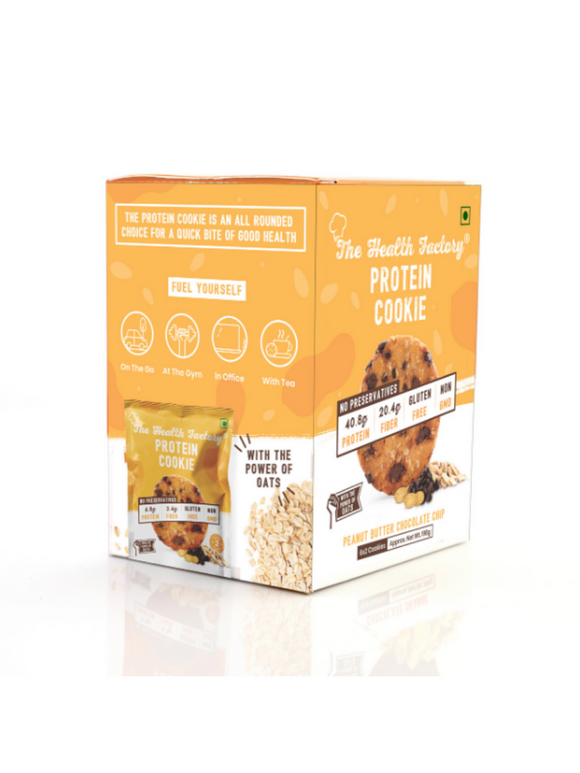 Peanut Butter Protein Cookie - 198g - The Health Factory