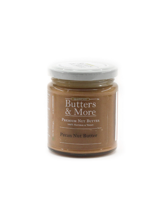 Natural Pecan Nut Butter - 200g - Butters & More