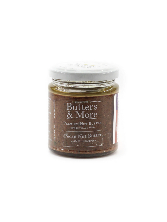 Pecan Nut Butter with Blueberries - 200g - Butters & More