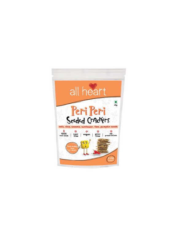 Peri Peri Seeded Trail Mix -  All Heart