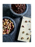 Pistachio & Cocoa Nibs White Chocolate - 70g - Toska Chocolate