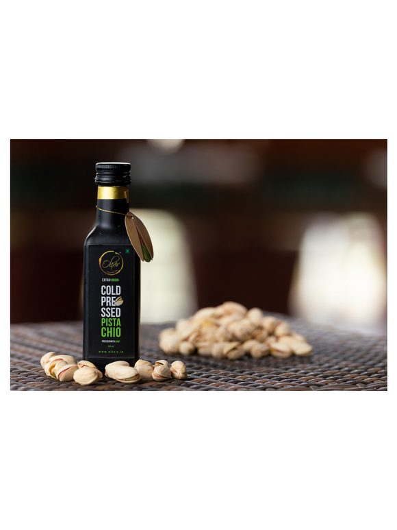 Pistachio Cold Pressed Oil - 100ml - Olixir