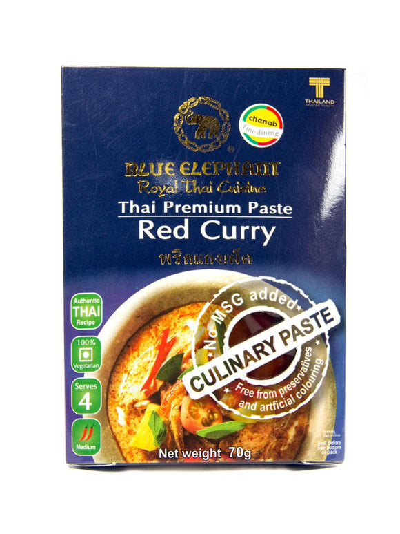 Red Thai Curry Paste - 70g - Blue Elephant