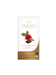 Rose & Almonds - 75g - Pascati Chocolates