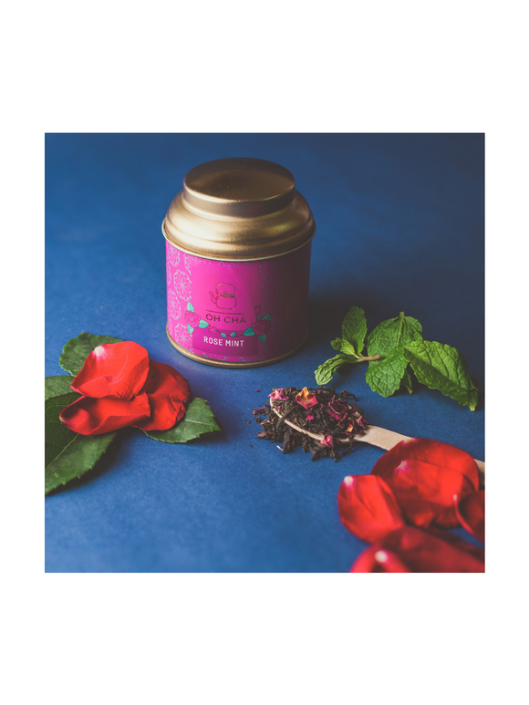 Rose Mint tea - 40g - Oh Cha