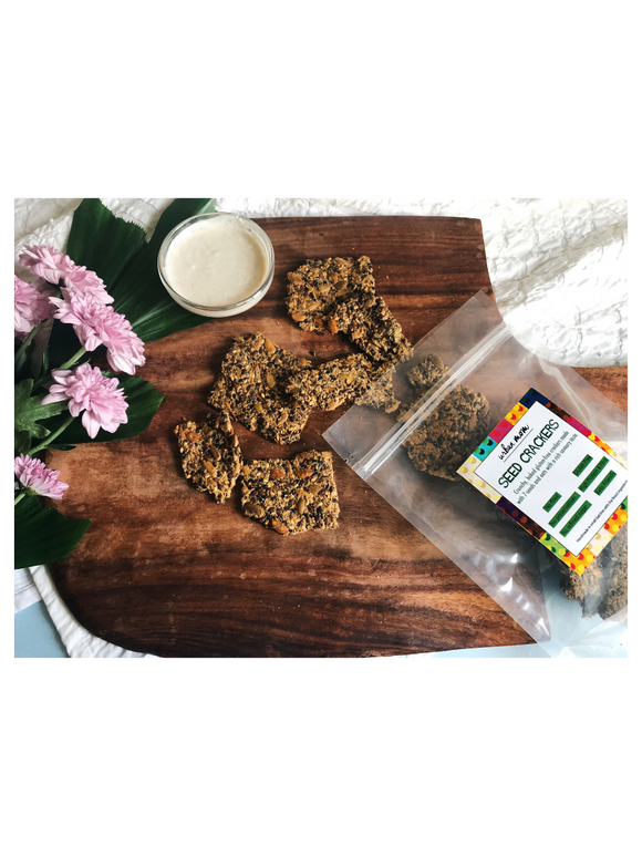 Seed Crackers - 150g - Urban Moms