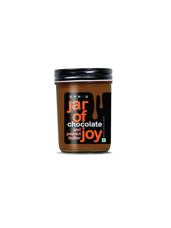 Jar of Joy – Chocolate and Peanut Butter - 290g - Sprig