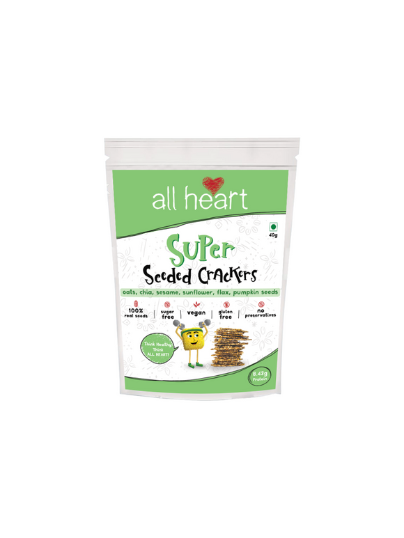 Super Seeded Crackers - All Heart