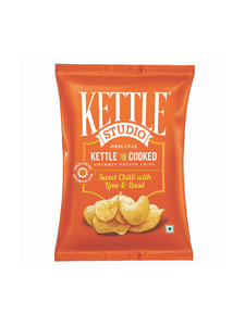 Sweet Chilli with Lime & Basil Potato Chips - 47g - Kettle Studio