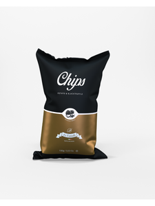 Potato & Black Truffle Chips - 100g - La Rustichella