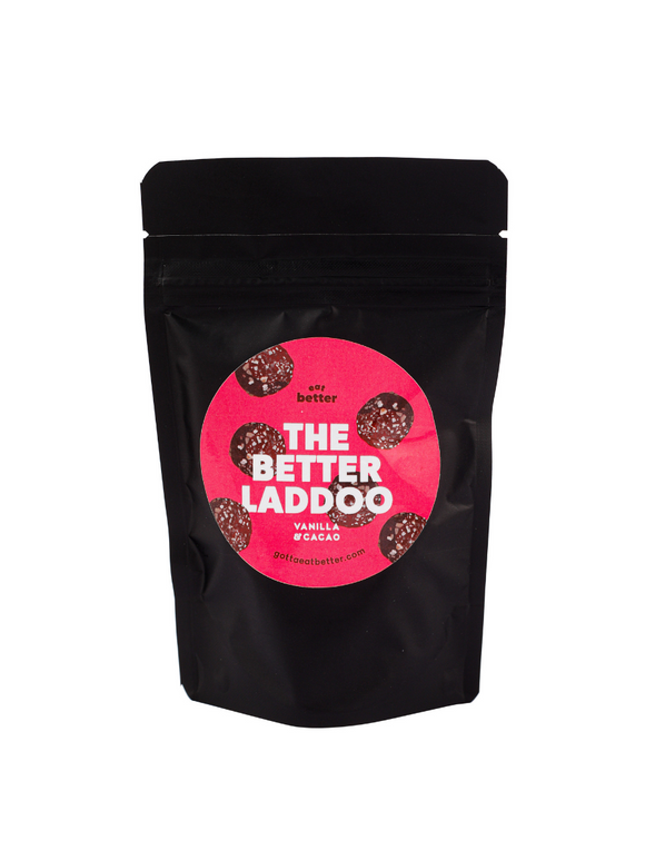 Vanilla & Cacao Laddos - 60g - Eat Better