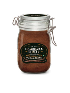 Demerara Sugar Infused with Vanilla Beans - 175g - Sprig