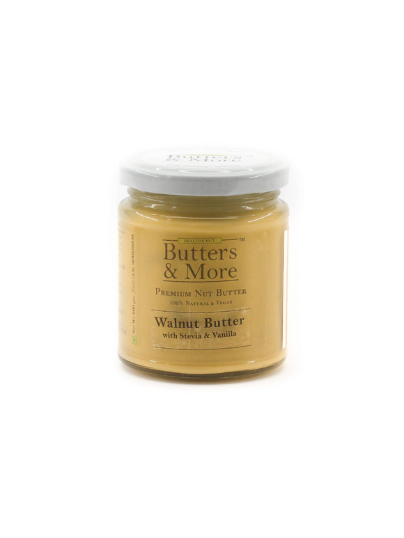 Keto Walnut Butter with Stevia & Vanilla - 200g - Butters & More