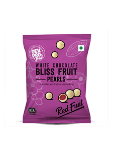 Bliss Fruit Pearls Forest Fruit Yoghurt White chocolate - 40g - Dev. Pro.