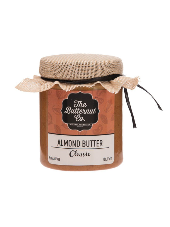Almond Butter Unsweetened- 200g - The Butternut Co