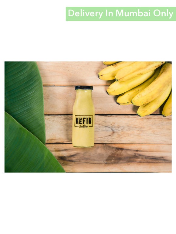 Banana Flavour Milk Kefir - 180Ml Culture Smoothies & Keffir