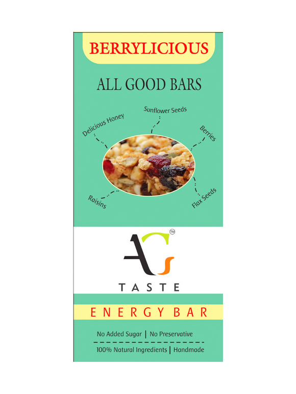 Berrylicious Health Bars - All Good Taste
