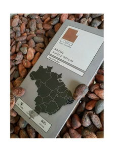 Brazil Single Origin Dark Chocolate - 70g - Toska Chocolate