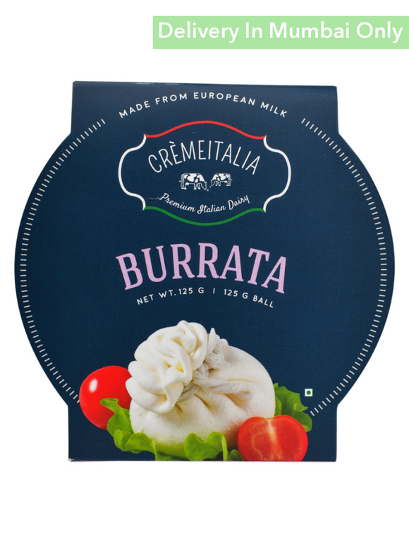 Burrata - 125G (1 Ball) Cremeitalia Cheese